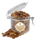 Deluxe Nut Medley Round Canister-Wofford Terriers w/ Terrier