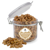 Cashew Indulgence Round Canister-Wofford Terriers w/ Terrier