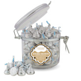 Kissable Creations Round Canister-Wofford College Stacked