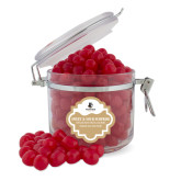Sweet & Sour Cherry Surprise Round Canister-Wofford Terriers w/ Terrier