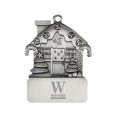 Pewter House Ornament-W Wofford Engraved