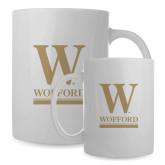Full Color White Mug 15oz-W Wofford