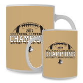 Full Color White Mug 15oz-2017 Football Champions - Football