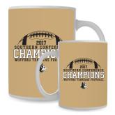 Full Color White Mug 15oz-2017 Football Champions - Football