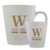 Full Color Latte Mug 12oz-W Wofford