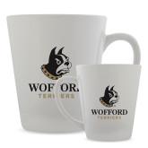 12oz Ceramic Latte Mug-Wofford Terriers w/ Terrier