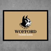 Full Color Indoor Floor Mat-Wofford Terriers w/ Terrier