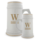 Full Color Decorative Ceramic Mug 22oz-W Wofford