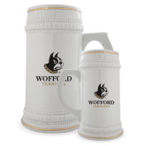 Full Color Decorative Ceramic Mug 22oz-Wofford Terriers w/ Terrier