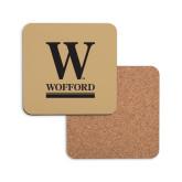 Hardboard Coaster w/Cork Backing-W Wofford