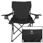 Deluxe Black Captains Chair-W Wofford