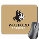 Full Color Mousepad-Wofford Terriers w/ Terrier
