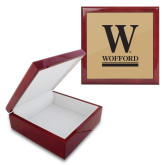Red Mahogany Accessory Box With 6 x 6 Tile-W Wofford