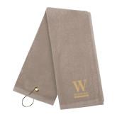 Stone Golf Towel-W Wofford
