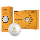 Callaway Warbird Golf Balls 12/pkg-W Wofford
