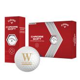 Callaway Chrome Soft Golf Balls 12/pkg-W Wofford