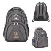 High Sierra Swerve Graphite Compu Backpack-W Wofford