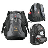 Wenger Swiss Army Tech Charcoal Compu Backpack-W Wofford