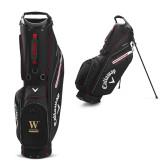 Callaway Hyper Lite 5 Black Stand Bag-W Wofford