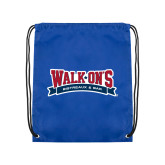 Royal Drawstring Backpack-Primary Mark