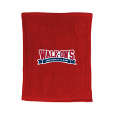 Red Rally Towel-Primary Mark