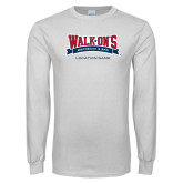 White Long Sleeve T Shirt-Location Personalized