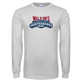 White Long Sleeve T Shirt-Independence Bowl