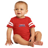 Vintage Red Jersey Onesie-Primary Mark