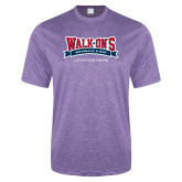 Performance Purple Heather Contender Tee-Location Personalized