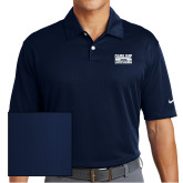 Nike Dri Fit Navy Pebble Texture Sport Shirt-Game Day - Louisiana