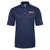 Nike Golf Tech Dri Fit Navy Polo-Primary Mark