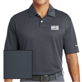 Nike Dri Fit Charcoal Pebble Texture Sport Shirt-Game Day - Louisiana