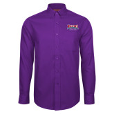 Red House Purple Long Sleeve Shirt-Location Personalized