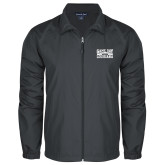Full Zip Charcoal Wind Jacket-Game Day - Louisiana