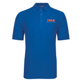 True Blue Easycare Pique Polo-Primary Mark