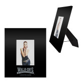 Black Metal 5 x 7 Photo Frame-Location Personalized  Engraved