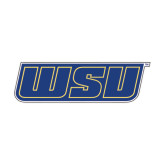 Extra Large Decal-WSU, 18 inches wide