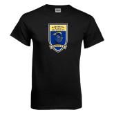 Black T Shirt-Lancer Shield