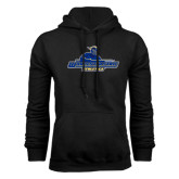 Black Fleece Hoodie-Worcester State Athletics