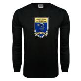 Black Long Sleeve TShirt-Lancer Shield
