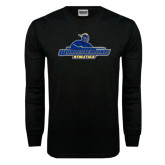 Black Long Sleeve TShirt-Worcester State Athletics