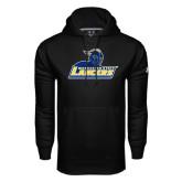 Under Armour Black Performance Sweats Team Hoodie-Primary Mark