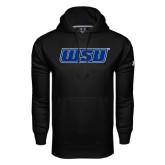 Under Armour Black Performance Sweats Team Hoodie-WSU