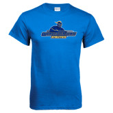 Royal T Shirt-Worcester State Athletics