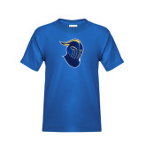 Youth Royal T Shirt-Lancer Head