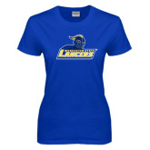 Ladies Royal T-Shirt-Primary Mark