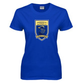 Ladies Royal T-Shirt-Lancer Shield