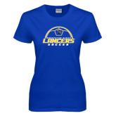 Ladies Royal T Shirt-Soccer Top