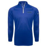 Under Armour Royal Tech 1/4 Zip Performance Shirt-WSU