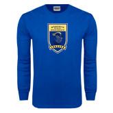 Royal Long Sleeve T Shirt-Lancer Shield